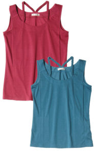 授乳服 授乳インナー みつあみインナーはベリーとピーコックグリーンの2色