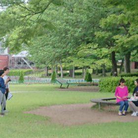授乳服のモーハウス 公園撮影 オフショット