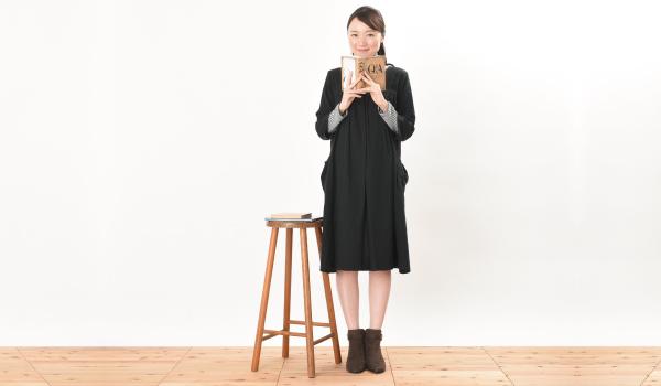 授乳服 シルフィード ブラック ワンピース