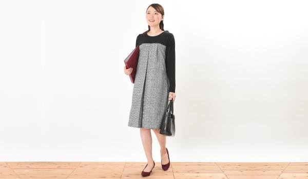授乳服 CHACO(チャコ) ワンピース オフィス