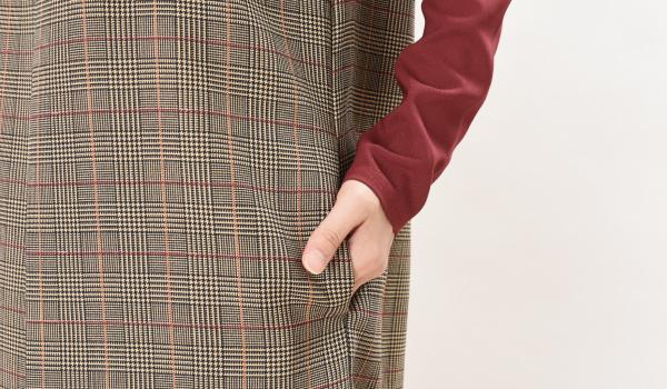 授乳服 CHACO(チャコ) ワンピース ポケット付