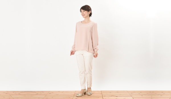授乳服 ピュアミール フレンチピンク