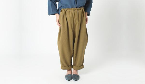 授乳服 ネパール マタニティ兼用ボトム Raputa(ラピュタ)