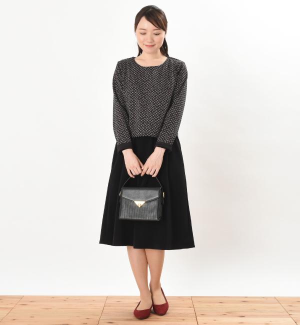 授乳服 ARARE(あられ) ワンピース ブラック