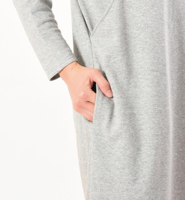 デイリーワンピ 綿100% 授乳服 マタニティ 妊婦 授乳 ワンピース ポケット