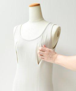 授乳 インナー 授乳服 穴あきインナー