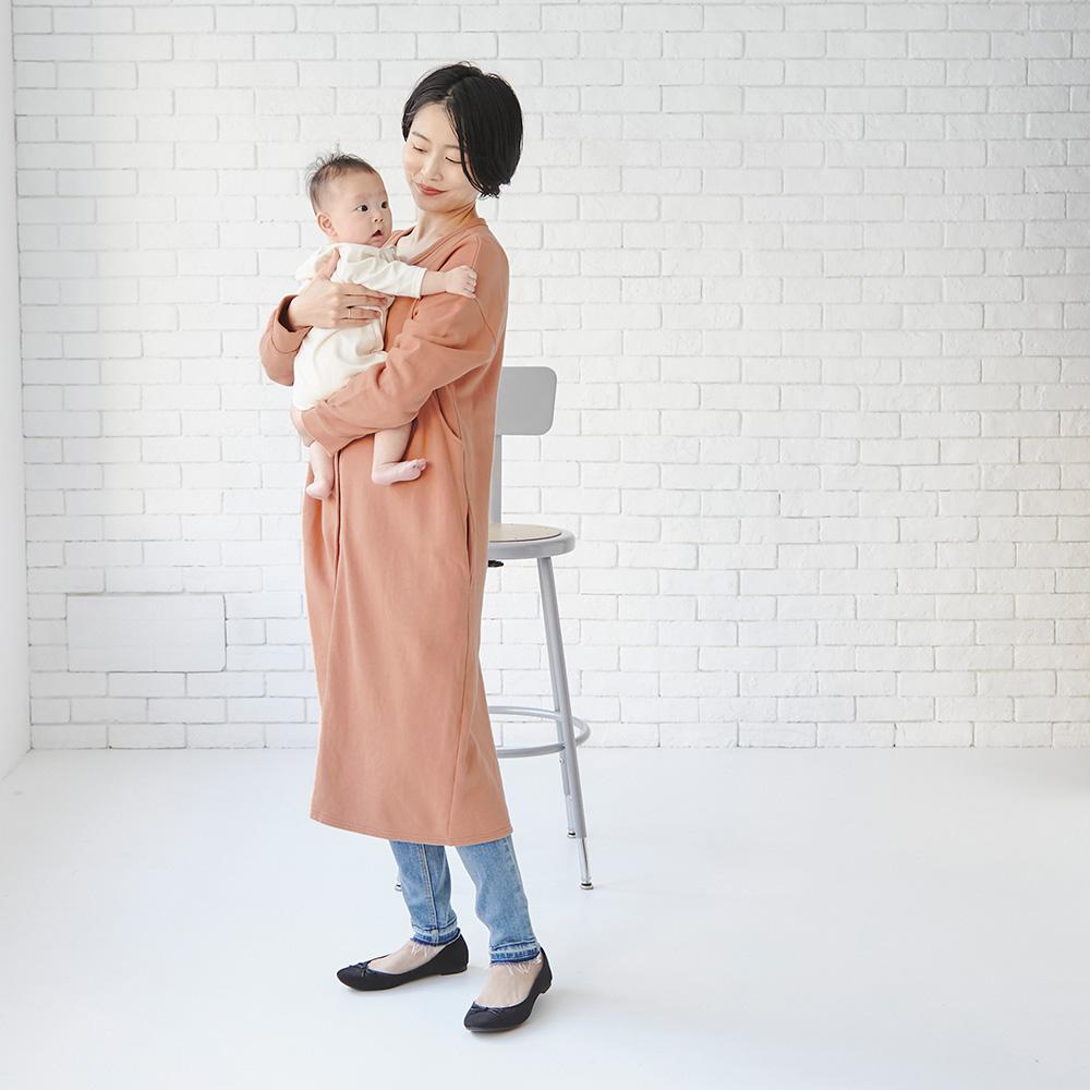 授乳服 マタニティ服 授乳用パジャマ 赤ちゃん 授乳 マタニティ ママ